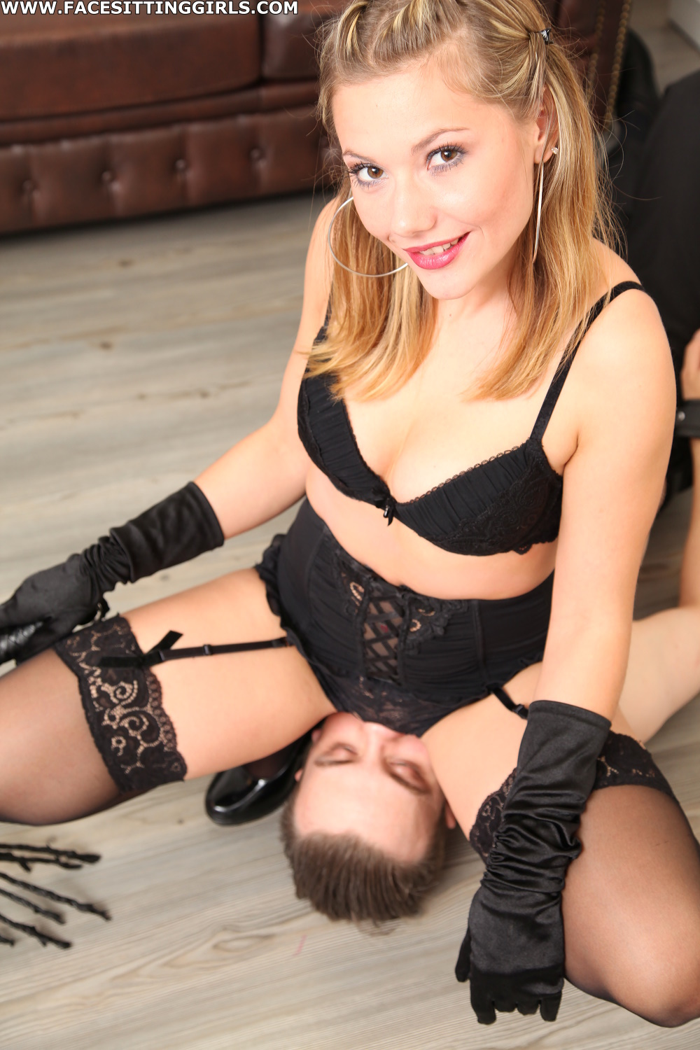 image Mistress joyce with young bbc with cuckold creampie cleanup